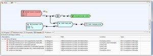 FPGA Programming Software Tool Build Window