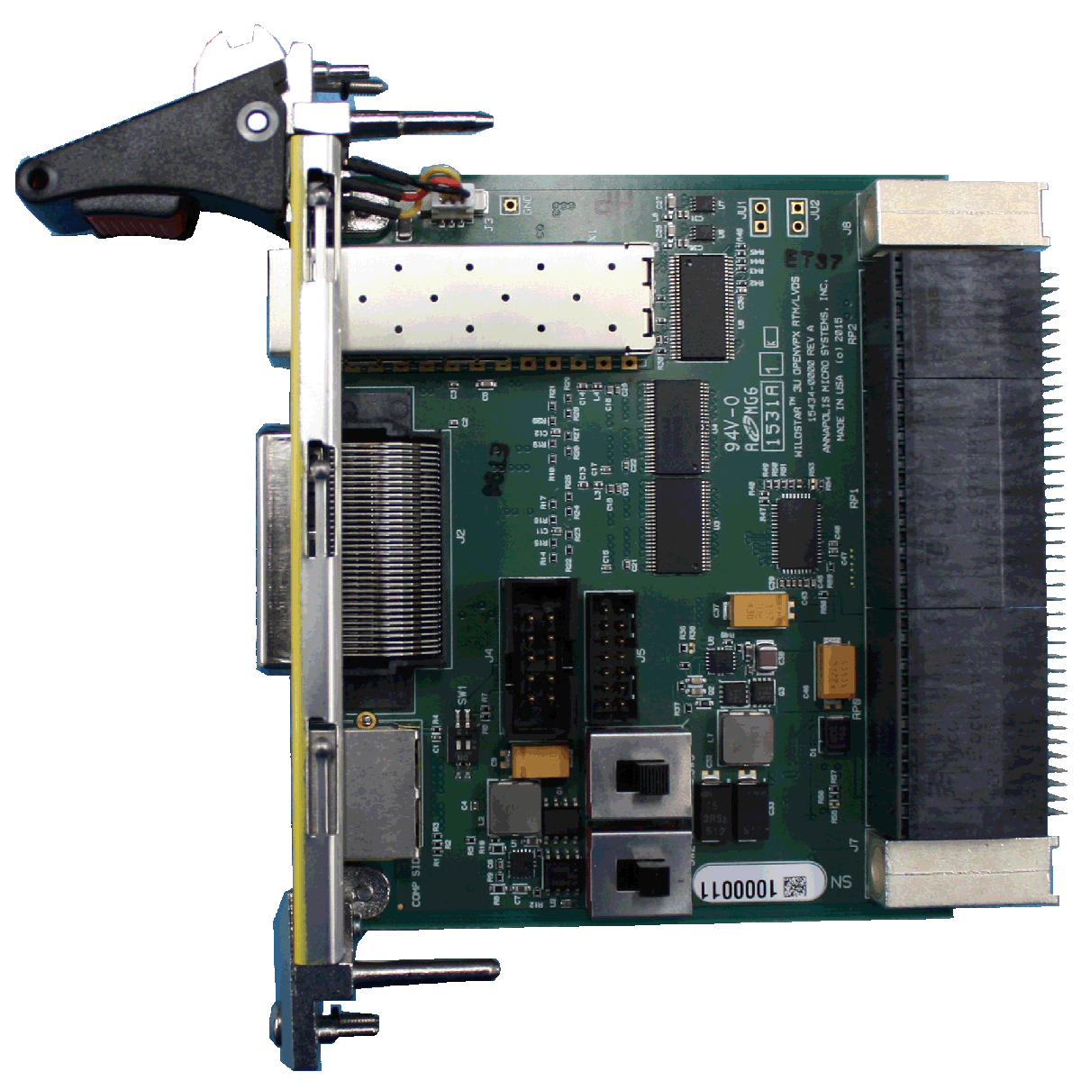 LVDS RTM OpenVPX 3U High Speed Mezzanine Card