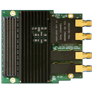 Dual Channel 1.8GSps/Single 3.6GSps 10-Bit/12-Bit ADC FMC