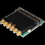 Dual Channel 1.5GSps 12-Bit ADC & DAC Mezzanine Card