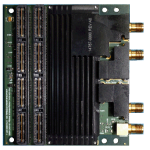 Rugged Dual or Single Channel 12-Bit ADC Mezzanine Card