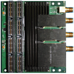 Rugged Dual-Channel 3GSps 12-Bit DAC Mezzanine Card