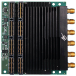 Rugged Dual Channel 1.6/2.7/4.0GSps 12-Bit ADC Mezzanine Card