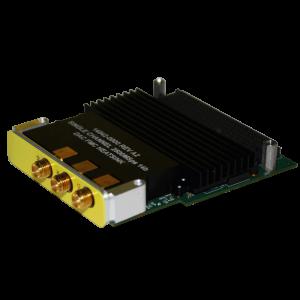 Dual Channel 2.5GSps 14-Bit DAC FPGA Mezzanine Card