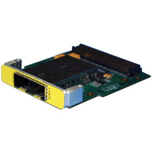 Dual-Channel Small Form-Factor Pluggable+ FPGA Mezzanine Card