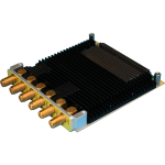 Dual-Channel 1.5GSps 12-Bit Analog to Digital & Digital to Analog Converter Mezzanine Card