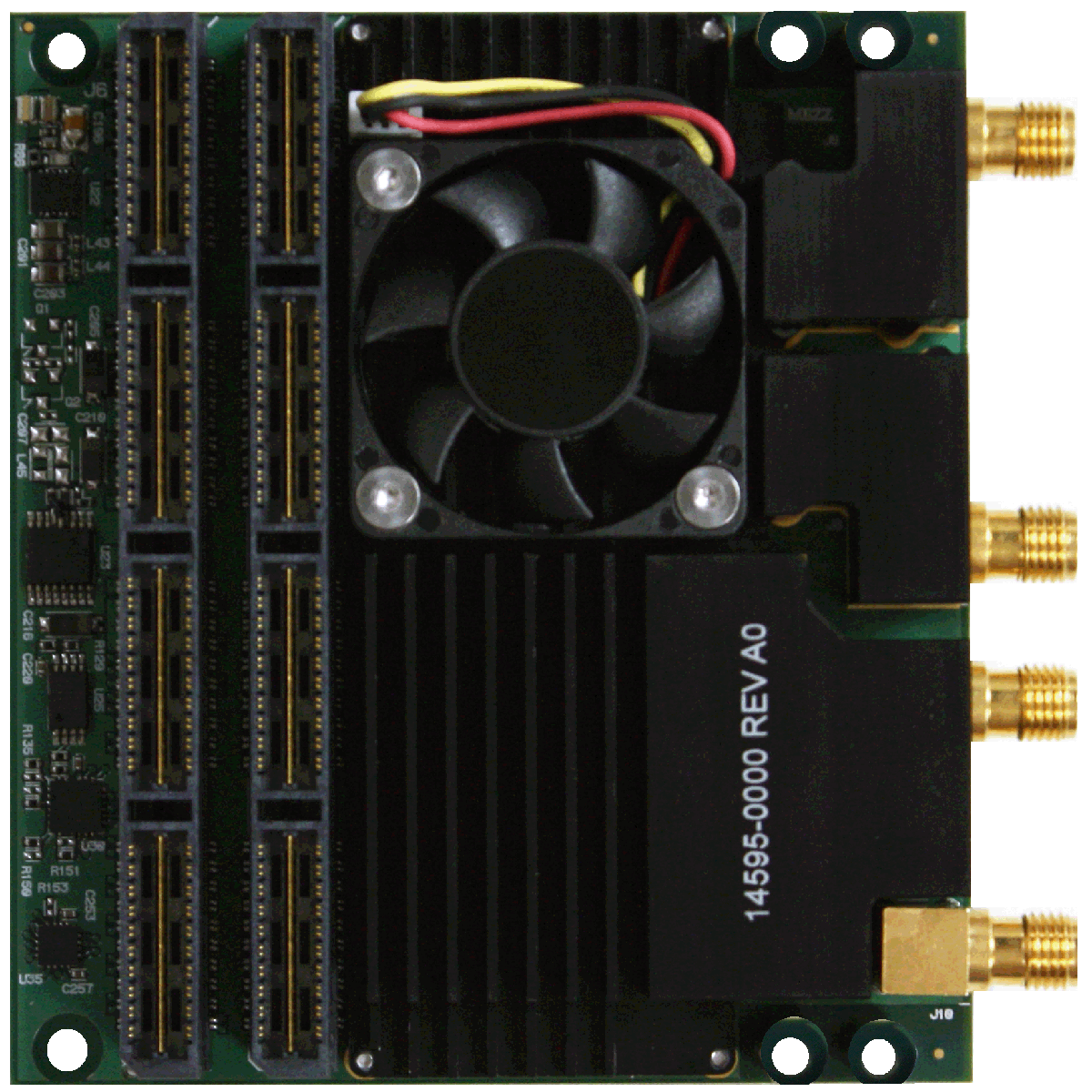 Single-Channel 5GSps or Dual-Channel 2 5GSps ADC Mezzanine Card