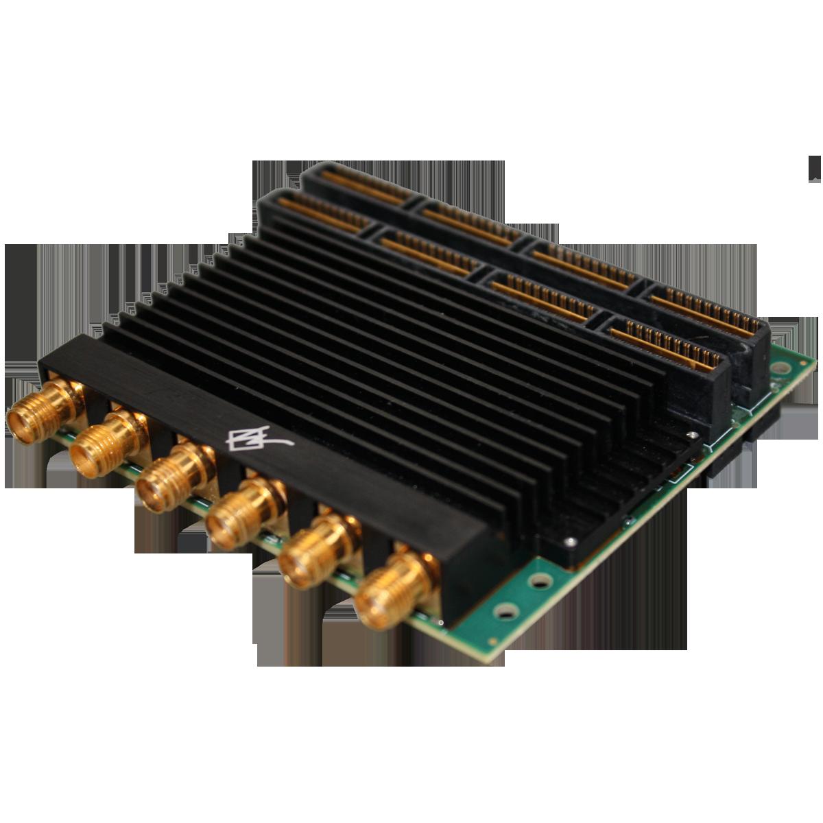 Dual-Channel 2.3 GSps 14-Bit DAC Mezzanine Card