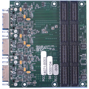 Universal 6 Gigabit Serial CD Mezzanine Card