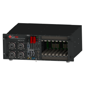 7-slot 3U VPX Chassis - isometric view