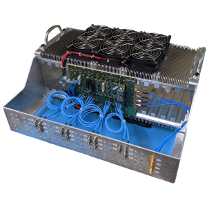 Quick-Turn 3U and 6U VPX Chassis and Backplane - Isometric