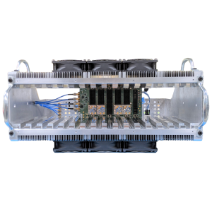 Quick-Turn 3U and 6U VPX Chassis and Backplane - Front