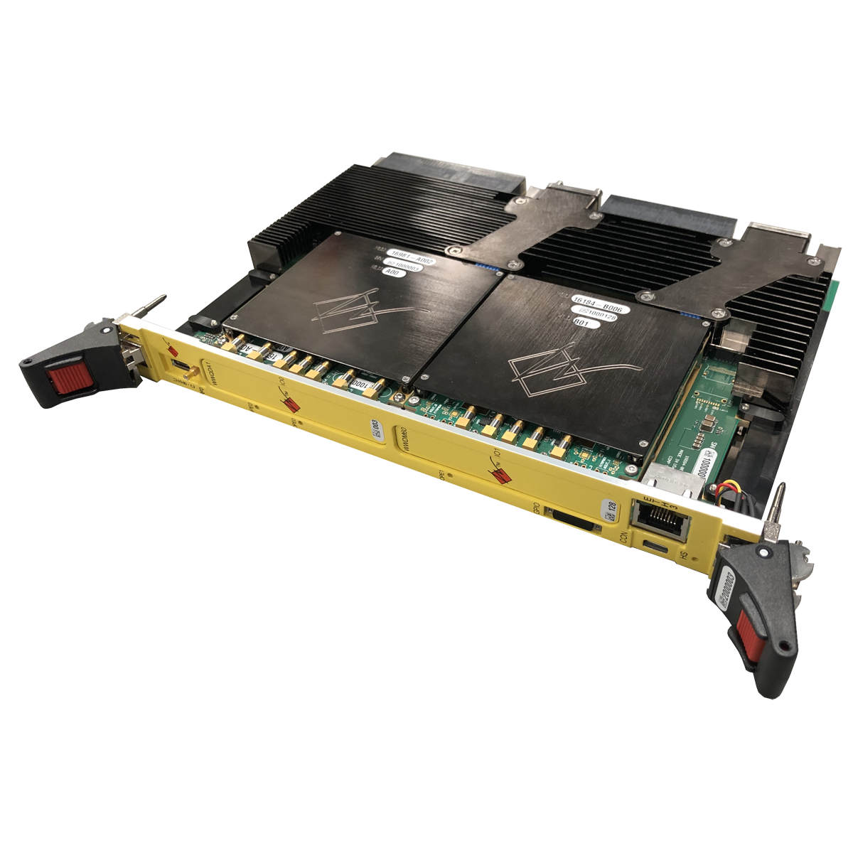 Xilinx Virtex UltraScale+ FPGA Board with Zynq Quad ARM CPU