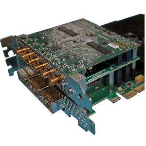 COTS Altera Stratix V PCIe FPGA Processing Board